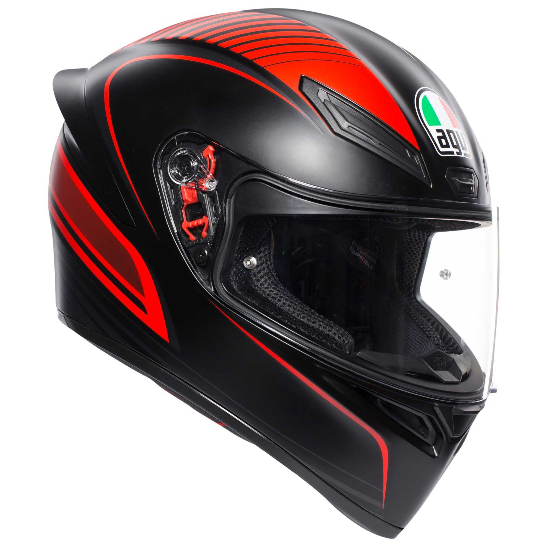 visiera specchio trasparente casco moto agv k1 warmup visiera fume/'