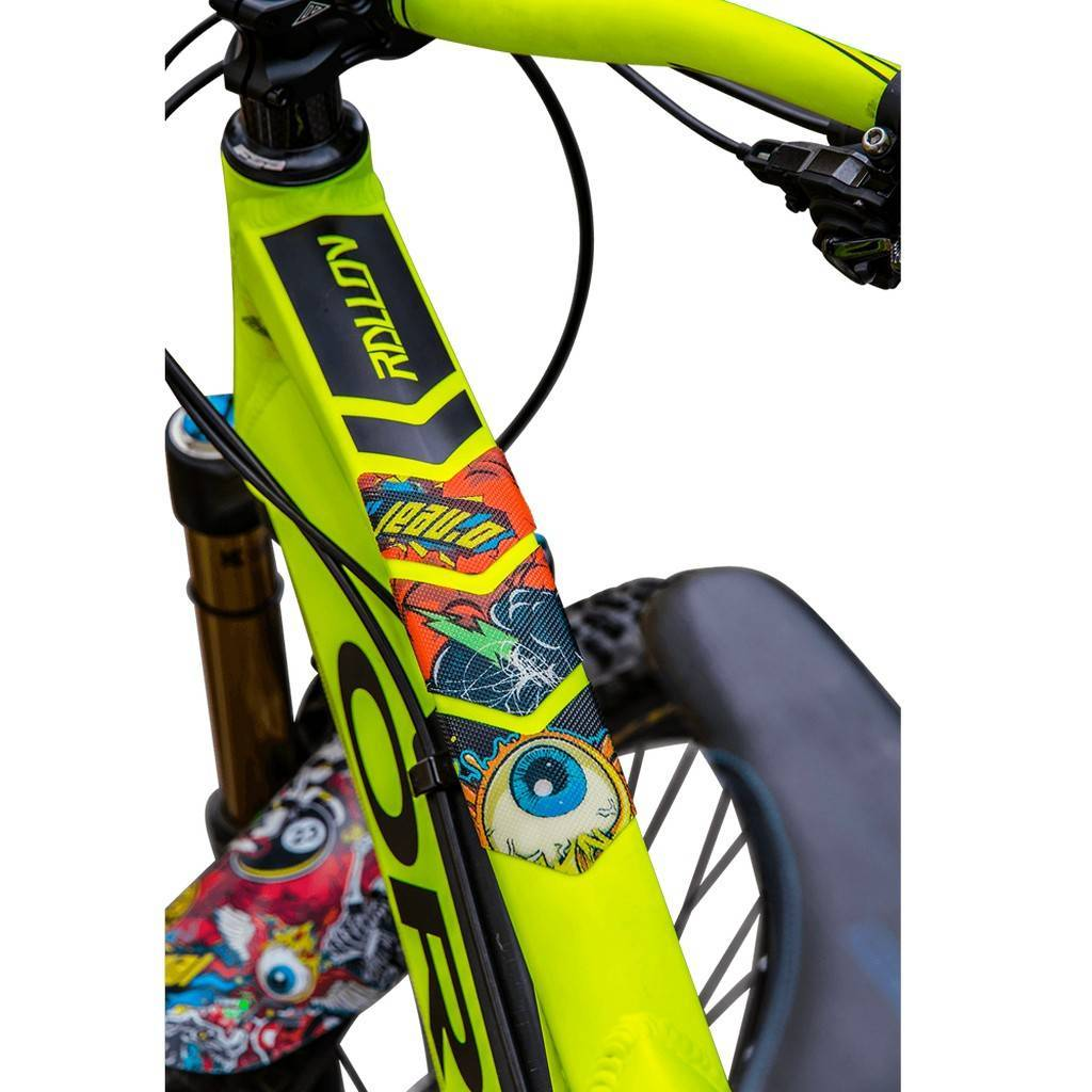 Azonic Frame Guards Sticker Kit Protection Frame MTB Bicycle Crank